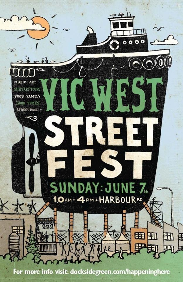 Poster for Vic West Street Fest