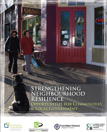 learning report of strengthening neighbourhood resilience