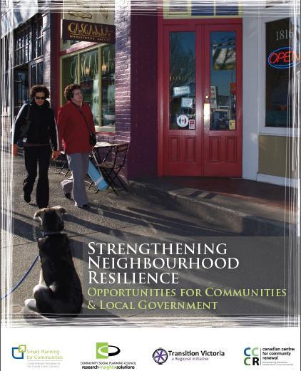 learning report of strengthening neighbourhood resilience