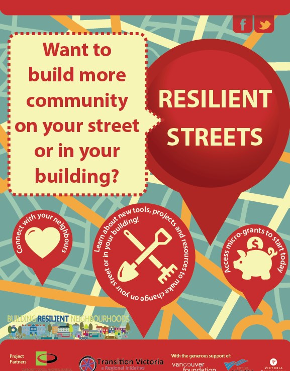 REGISTER for Our Next Round of Resilient Streets Workshops